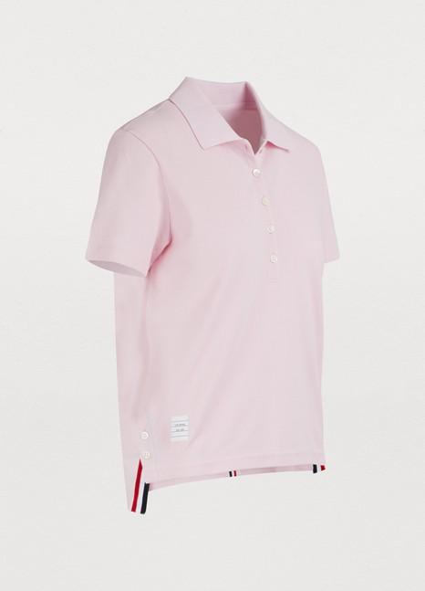 Thom BrowneCotton polo shirt