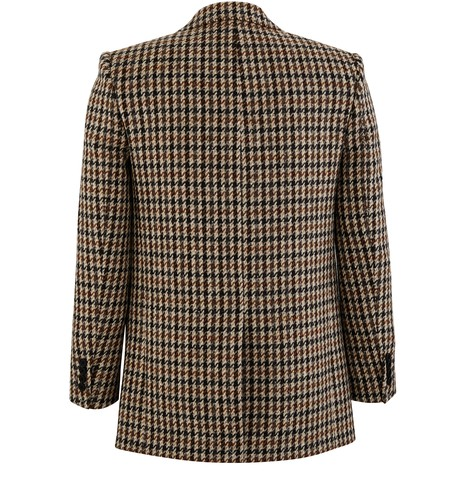 CELINE Tournon chequered jacket