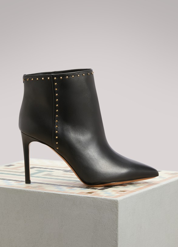 ValentinoStudded Ankle Boots