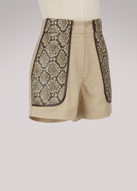 Maison PèrePython shorts