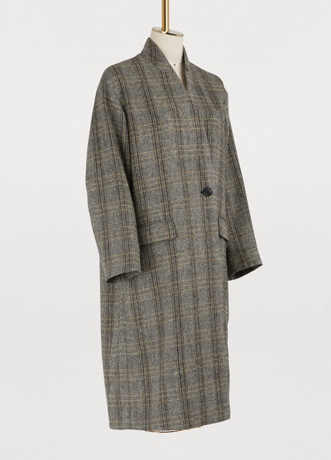 Isabel Marant Etoile Henlo virgin wool coat