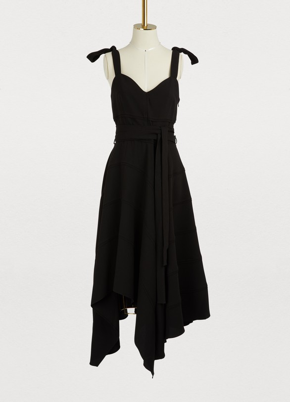 Proenza Schouler Asymmetrical maxi dress