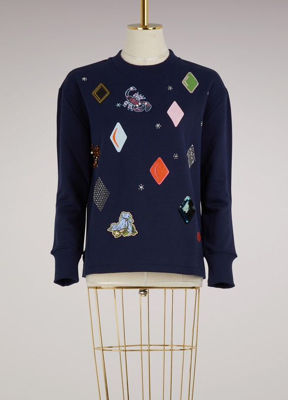 Opening Ceremony Cotton diamond sweatshirt