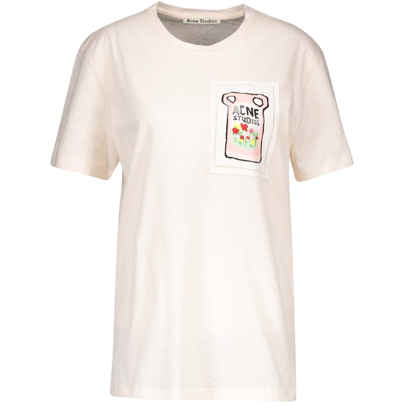 ACNE STUDIOS Ellevy patch t-shirt