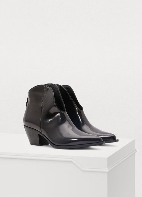 MSGMTronchetto heeled ankle boots