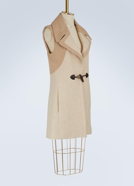 See by ChloéDuffle-coat sans manches en laine