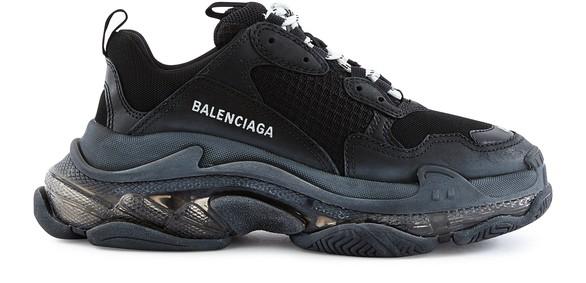 BALENCIAGATriple S Clear Sole trainers