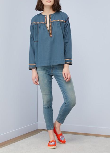 Isabel Marant EtoileCotton Bilcky blouse