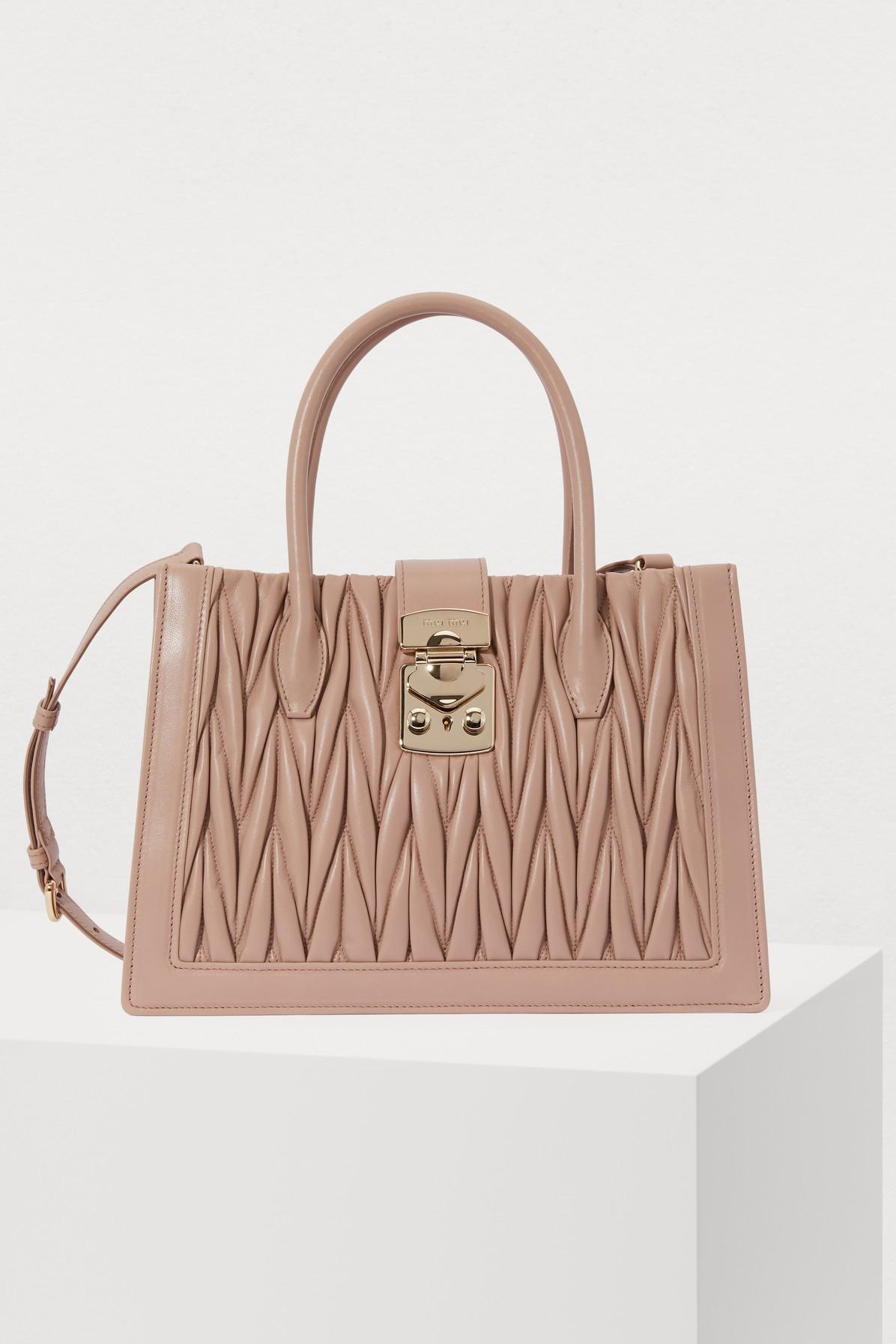 MIU MIU | Quilted Handbag | Goxip