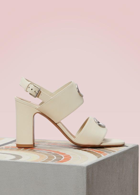 ValentinoEyelet Sandals