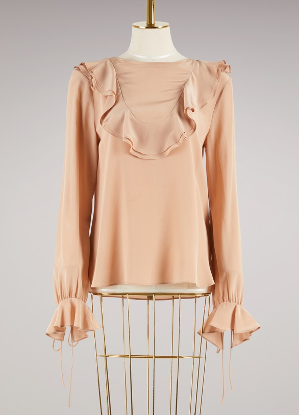 See by Chloé Silk Top