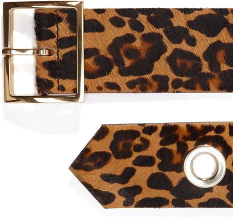 MAISON BOINETLeopard belt