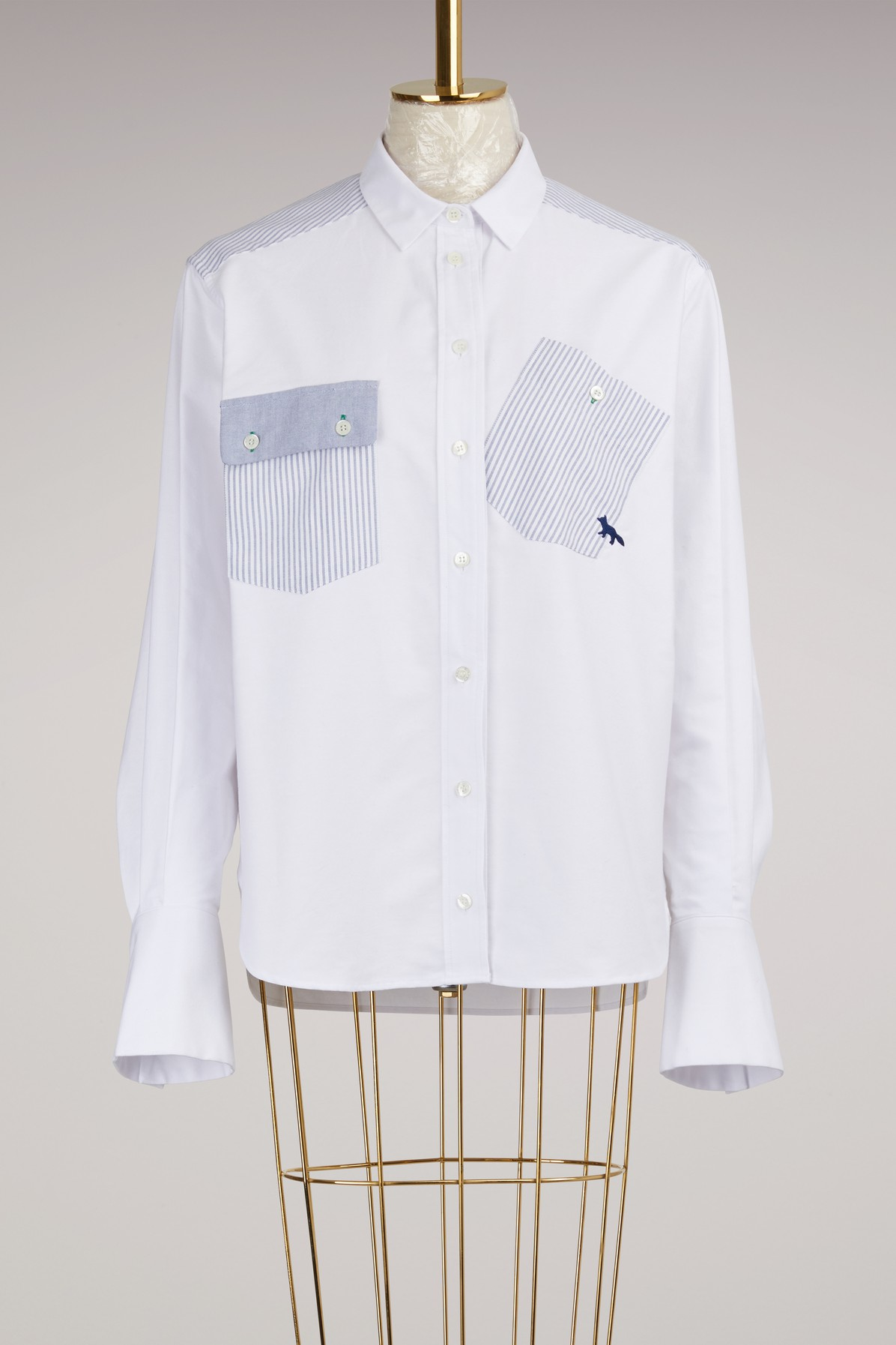 MAISON KITSUNE | Button-Down Shirt | Goxip