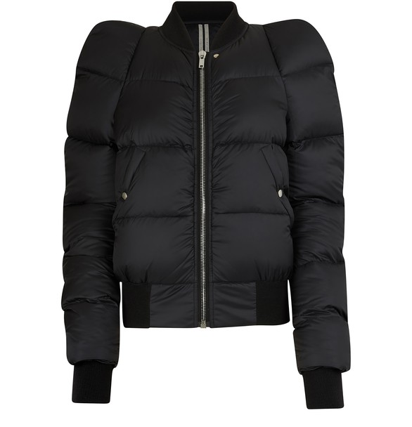 RICK OWENS Short down-jacket