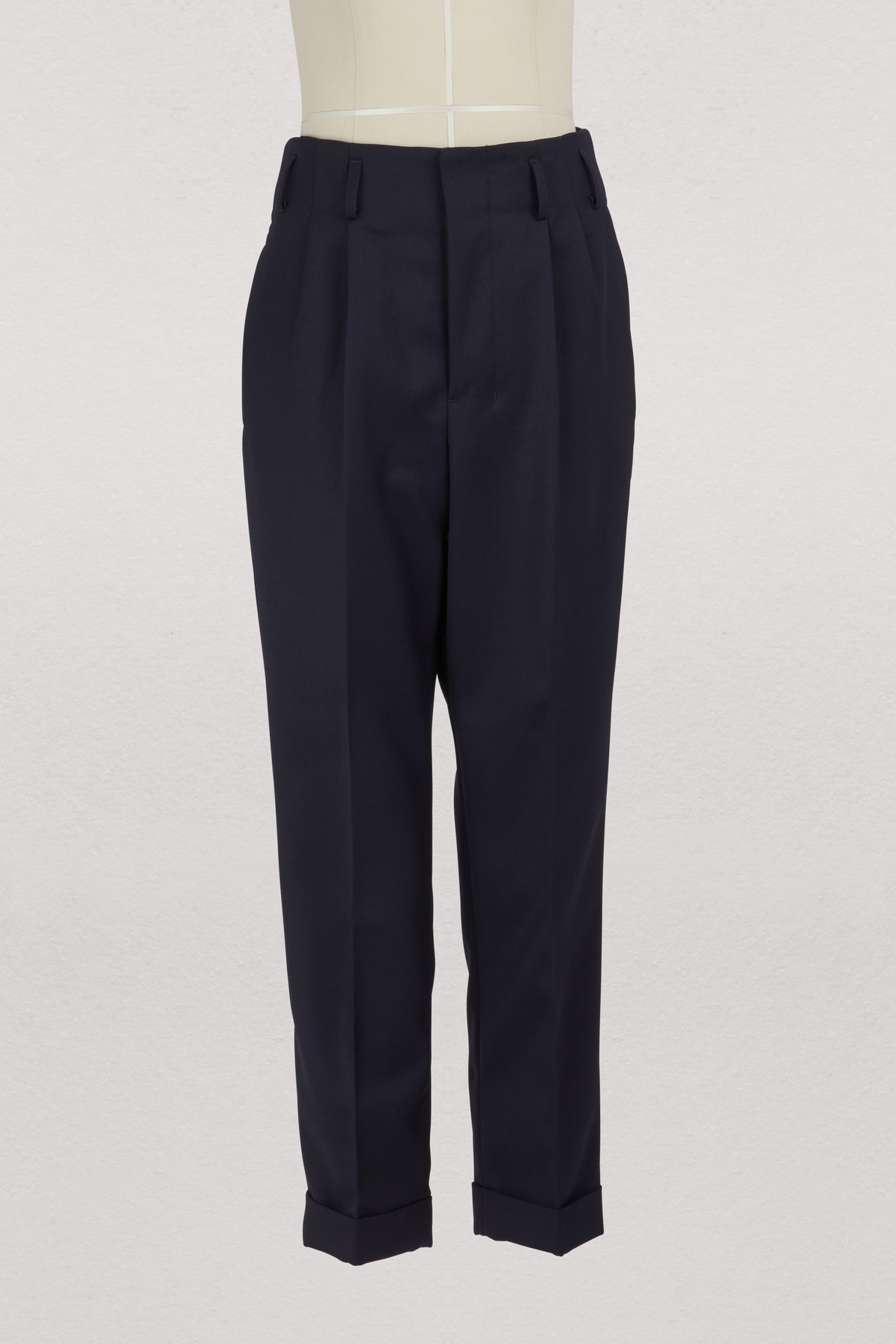 AMI | Straight trousers | Goxip
