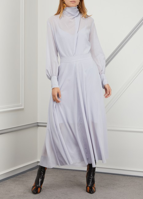 Nina Ricci Silk crepe dress