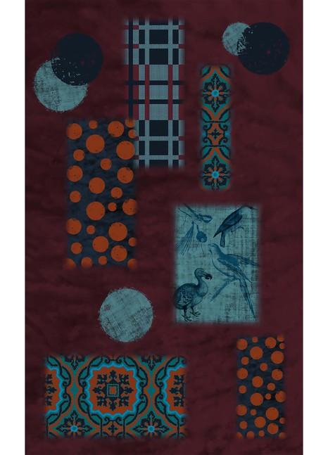 MEESHAPeaky scarf 140x230