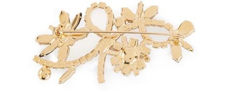 ERDEMCrystal Bee brooch