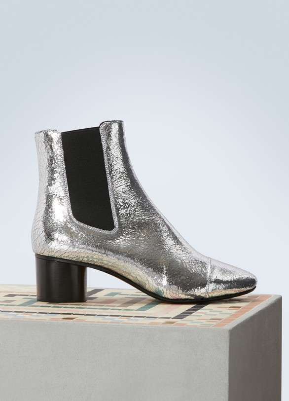 Isabel Marant Danelya leather Chelsea boots