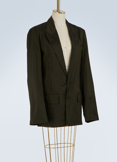 Haider Ackermann Pin striped blazer