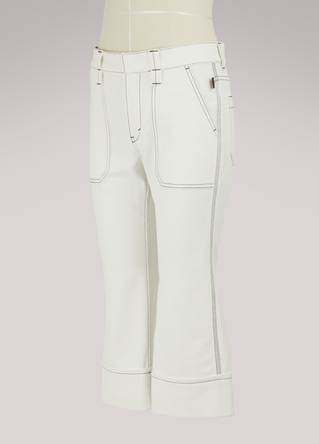 Chloé Cropped jeans
