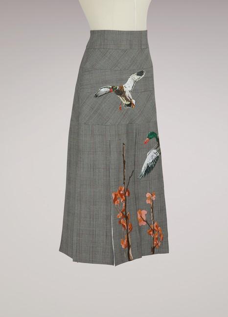 Stella JeanPrinted ducks skirt
