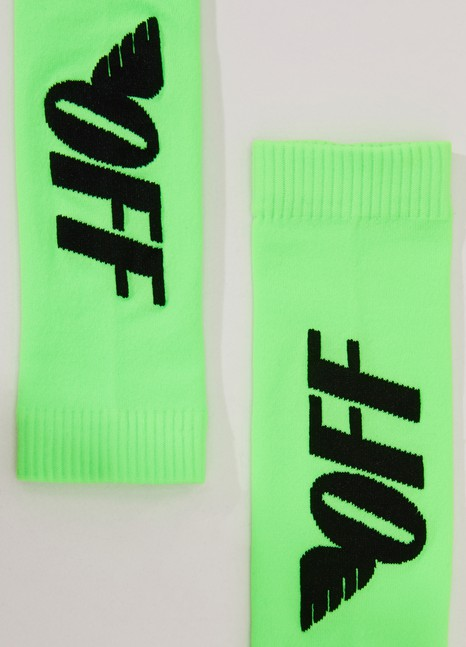 OFF-WHITEFluorescent socks