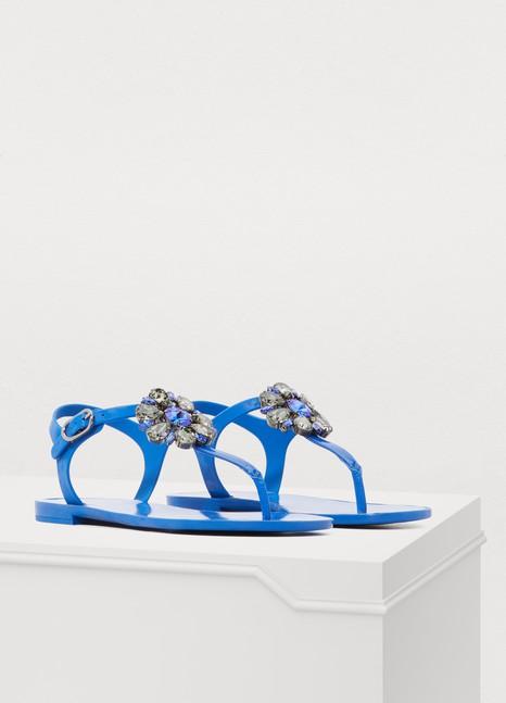 Dolce & GabbanaJelly sandals