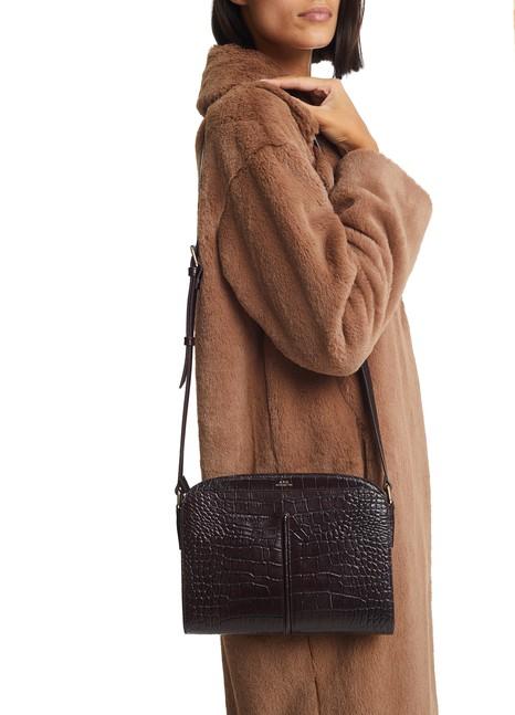 A.P.C.Aurelie Embossed Croco bag