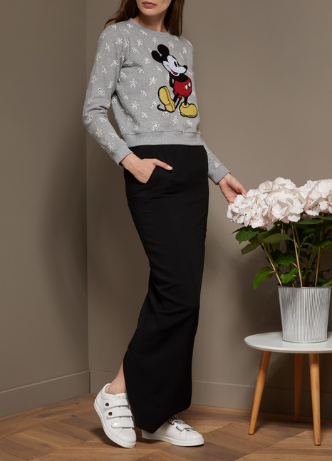 Marc JacobsSweatshirt Mickey Mouse avec broderie Anglaise