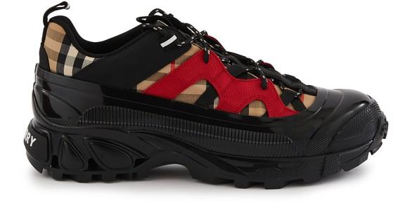 BURBERRYVintage Check Cotton and Nylon Arthur Sneakers
