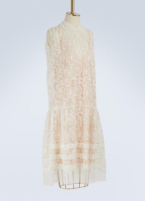 Miu MiuFloral lace dress