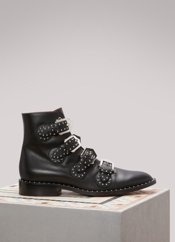 92c8dc041b0 Women's Elegant Flat Ankle Boots | Givenchy | 24 Sèvres