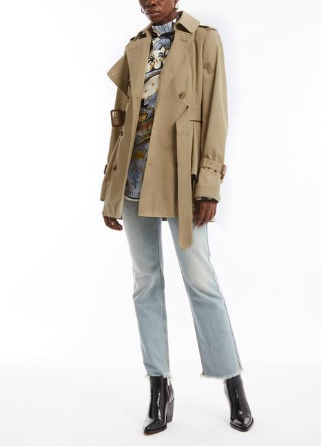ALEXANDER MCQUEENShort trench coat
