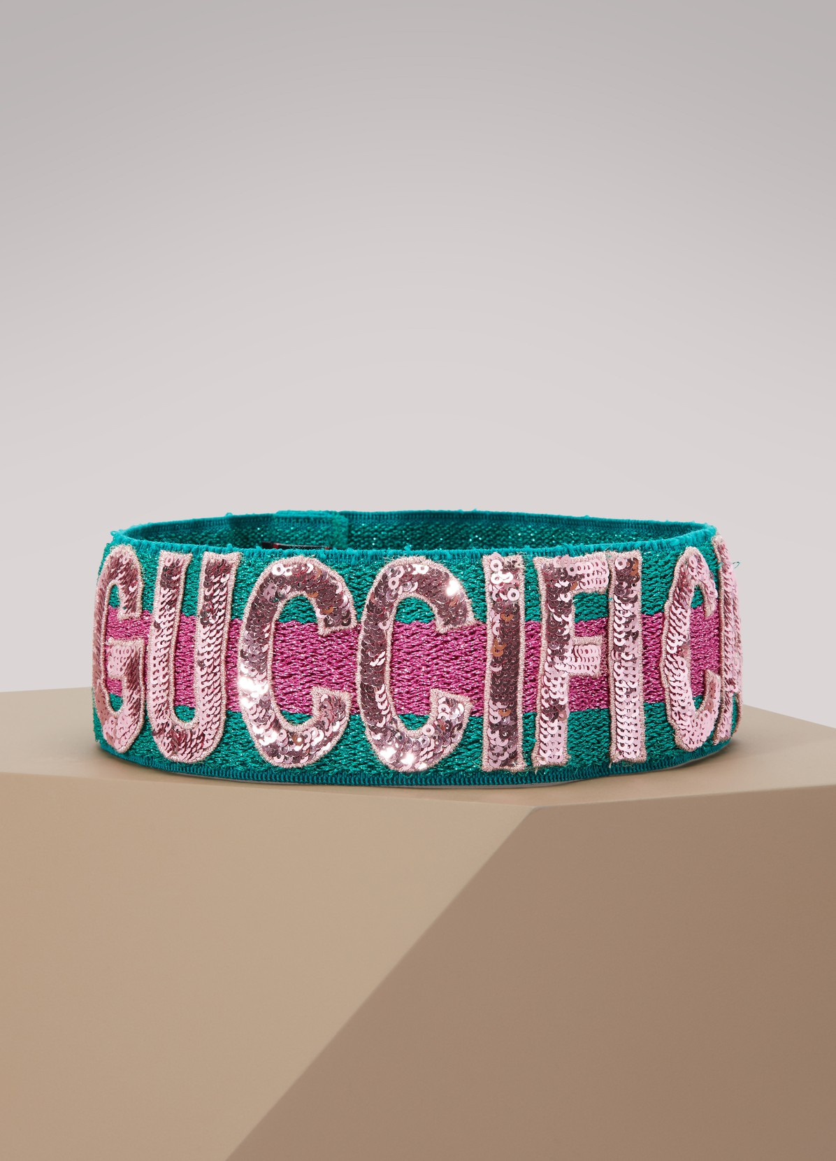Sequin Guccification headband