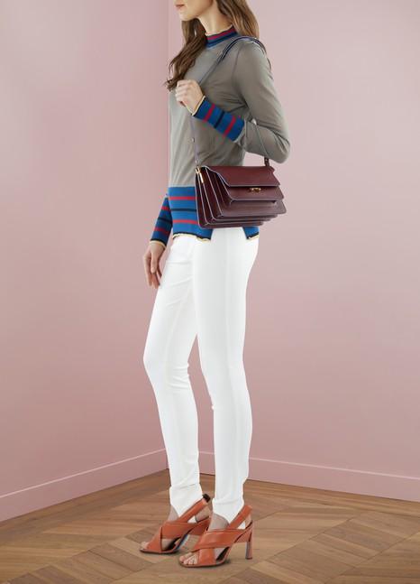 MarniTrunk Shoulder Bag in Calfskin