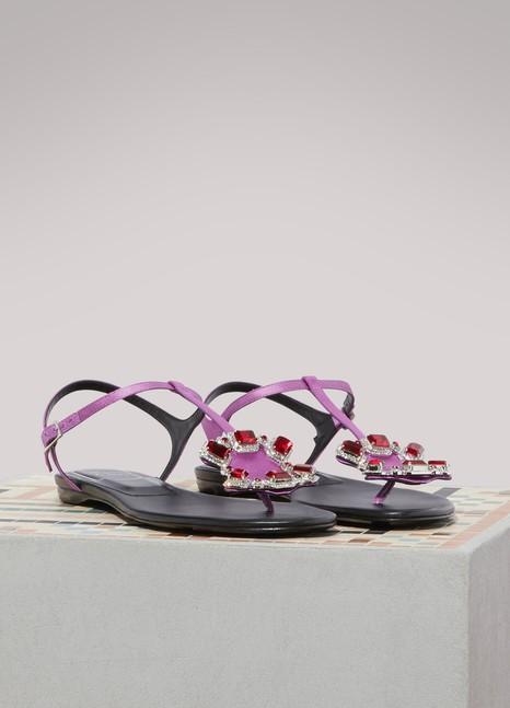 Roger VivierJewels crown sandals