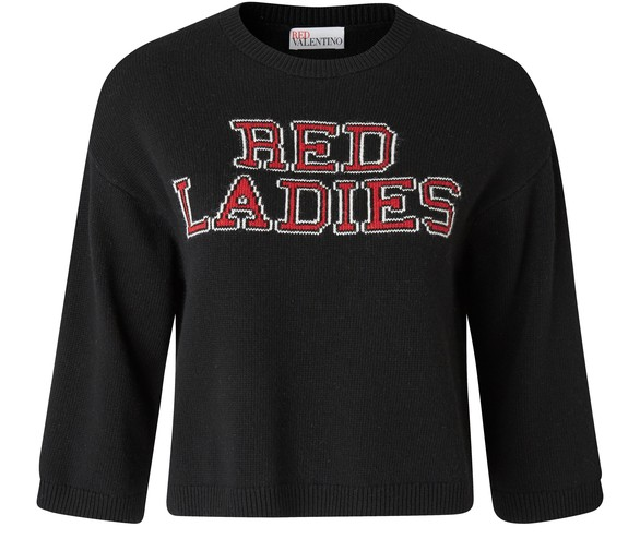 RED VALENTINO Pull-over Red Ladies