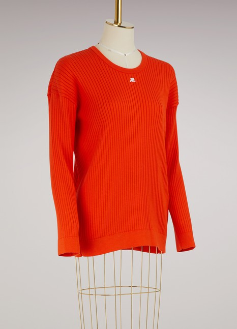 Courrèges Oversize sweater