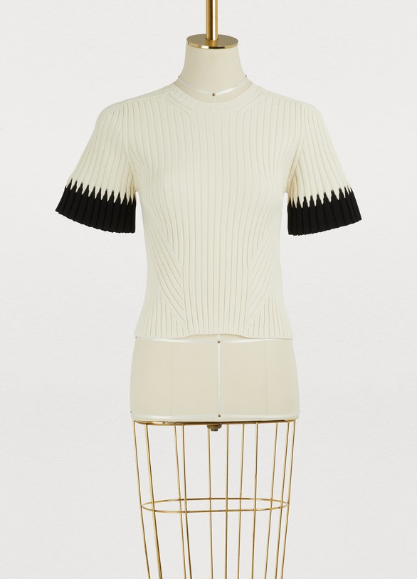 Alexander McQueenCropped t-shirt