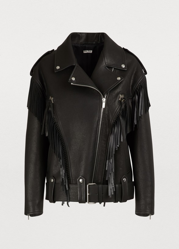 935aa42d53a Women s Oversize leather jacket