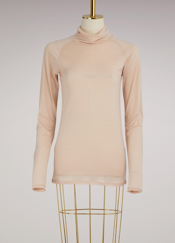 FORTE_FORTET-shirt manches longues en laine