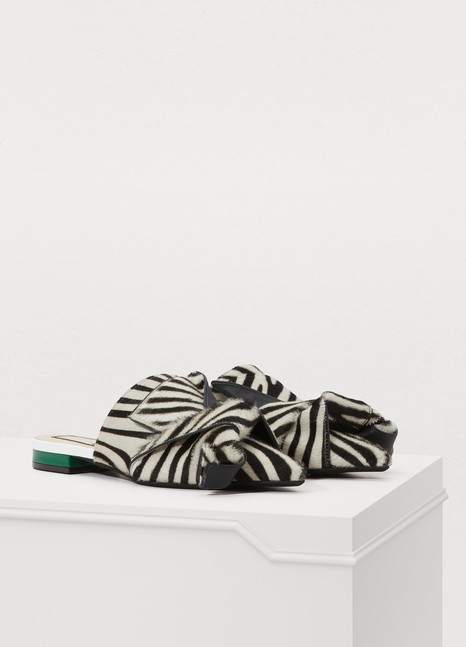 N 21 Bow slippers