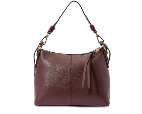 SEE BY CHLOELeather and suede Joan shoulder bag