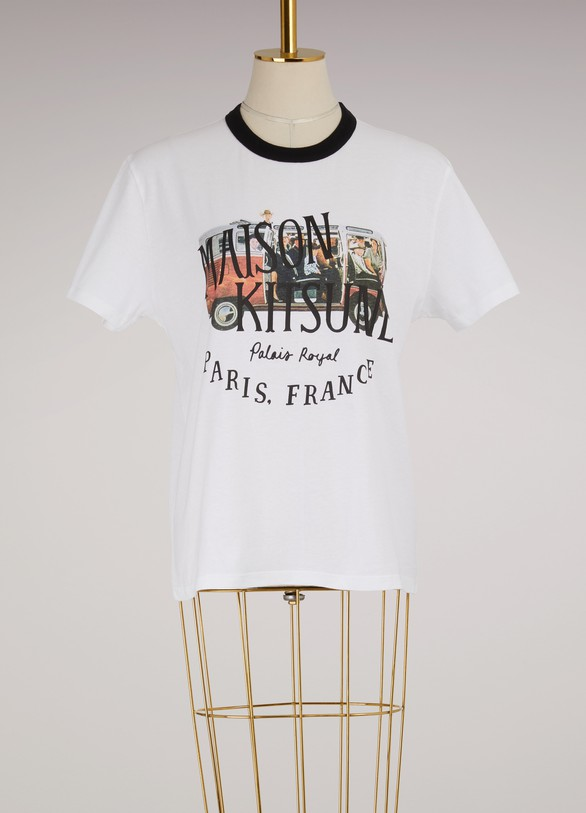 Maison Kitsuné Cotton Van t-shirt