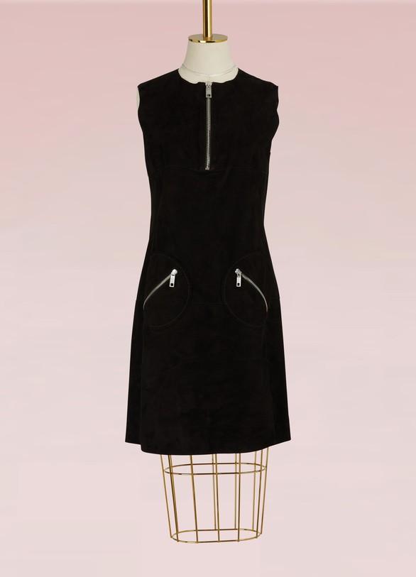 SportmaxPlatone leather dress