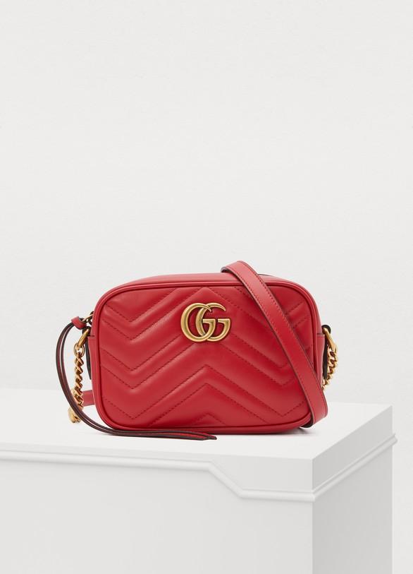 45eb79579ce Petit sac porté croisé GG Marmont femme