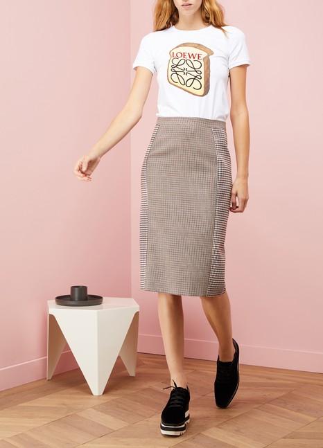 Stella McCartneyWool Tai Check Skirt