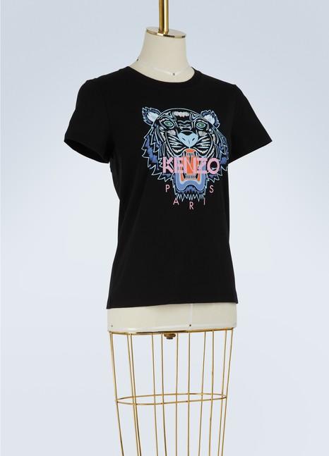 KenzoT-shirt Tiger en coton