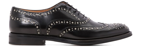CHURCH'SBurwood leather derby shoes